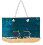 Waiting For A Dolphin Weekender Tote Bag