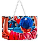 Waiting For A Foul Ball Weekender Tote Bag