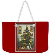Waiting For Christmas Morning Weekender Tote Bag