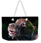 Waiting For Dad To Come Home Weekender Tote Bag