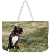 Waiting For Daddy Weekender Tote Bag