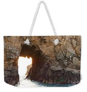 Waiting For Godot - Arch Rock In Pfeiffer Beach In Big Sur. Weekender Tote Bag