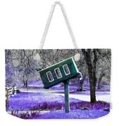 Waiting For Mail Weekender Tote Bag