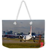 Waiting For Take-off  Weekender Tote Bag
