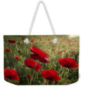 Waiting For The Morning Weekender Tote Bag