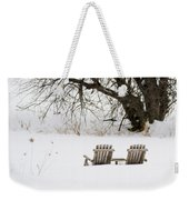 Waiting For The Right Season As An Oil Painting Weekender Tote Bag