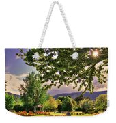 Waiting For The Roses To Bloom Weekender Tote Bag