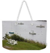 Waiting For Two Weekender Tote Bag