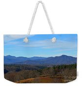 Waiting For Winter In The Blue Ridge Mountains Weekender Tote Bag