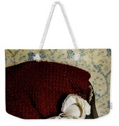 Waiting In The Crib Weekender Tote Bag