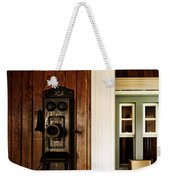 Waiting On A Call Weekender Tote Bag