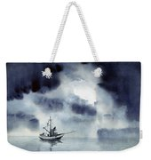 Waiting Out The Squall Weekender Tote Bag