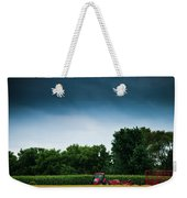 Waiting Out The Storms Weekender Tote Bag by Christi Kraft