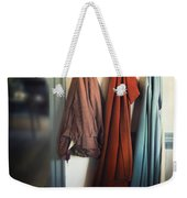 Waiting To Go Out Weekender Tote Bag