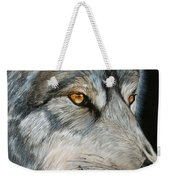 Waiting Wolf Weekender Tote Bag