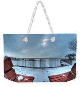 Waiting...impatiently... Weekender Tote Bag