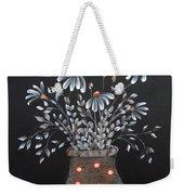 Wake Up And See The Flowers Weekender Tote Bag