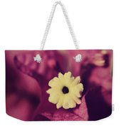 Waking Up Happy Weekender Tote Bag by Laurie Search