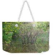 Walden Pond Weekender Tote Bag