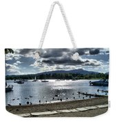 Wales On The Sea Weekender Tote Bag