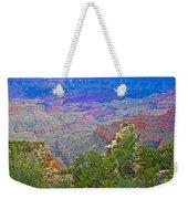 Walhala Overlook On North Rim Of Grand Canyon-arizona  Weekender Tote Bag