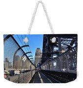 Walk Across Sydney Harbour Bridge Weekender Tote Bag
