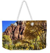 Walk Along The River Weekender Tote Bag