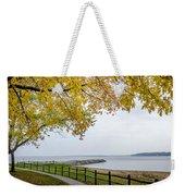 Walk Along The Shoreside Weekender Tote Bag