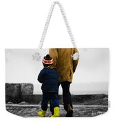 Walk Alongside Me Daddy Weekender Tote Bag
