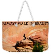 Walk In Beauty Weekender Tote Bag