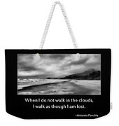 Walk In The Clouds Weekender Tote Bag