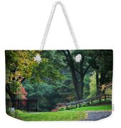Walk In The Park Weekender Tote Bag by Christina Rollo