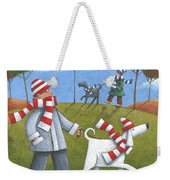 Walk In The Park Weekender Tote Bag by Peter Adderley
