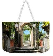 Walk In Vizcaya Gardens Weekender Tote Bag
