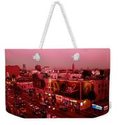 Walk Of Fame In Pink Weekender Tote Bag