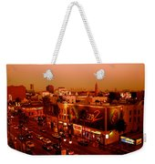 Walk Of Fame Hollywood In Orange Weekender Tote Bag