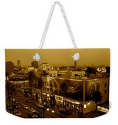 Walk Of Fame Hollywood In Sepia Weekender Tote Bag