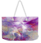 Walk On Water - Abstract Art Weekender Tote Bag by Jaison Cianelli