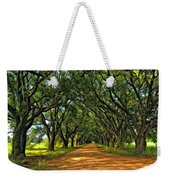 Walk With Me Paint Version Weekender Tote Bag