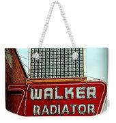 Walker Radiator Works Sign Weekender Tote Bag
