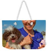 Walkies Weekender Tote Bag