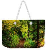 Walking An Autumn Path Weekender Tote Bag