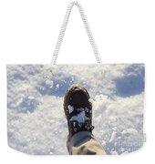 Walking In The Snow Weekender Tote Bag