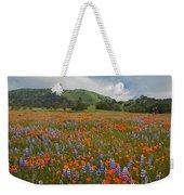 Walking In The Wildflowers Weekender Tote Bag