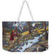 Walking In The Woods One Day Weekender Tote Bag