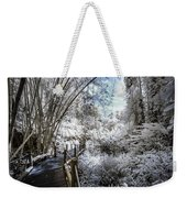 Walking Into The Infrared Jungle 2 Weekender Tote Bag