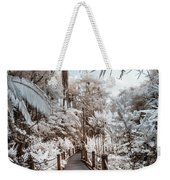 Walking Into The Infrared Jungle 3 Weekender Tote Bag