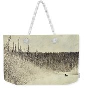 Walking Luna Weekender Tote Bag