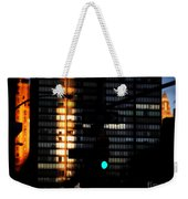 Walking Man - Architecture Of New York City Weekender Tote Bag