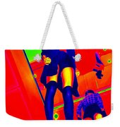 Walking On Air Weekender Tote Bag